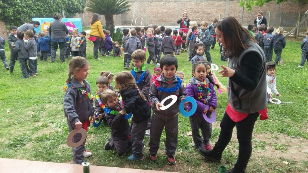 Festejo d a de la primavera nivel inicial escuela for Diseno curricular jardin maternal