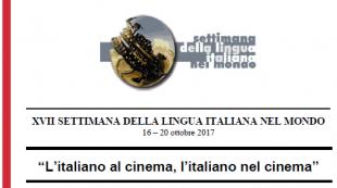 XVII Semana de la lengua italiana  2017-b